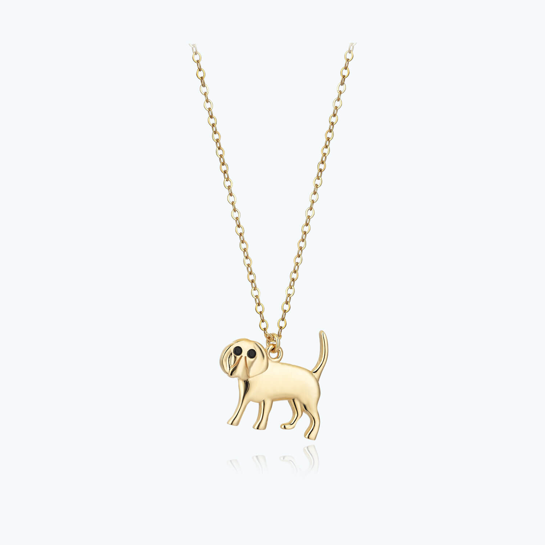 Altın Köpek Kolye