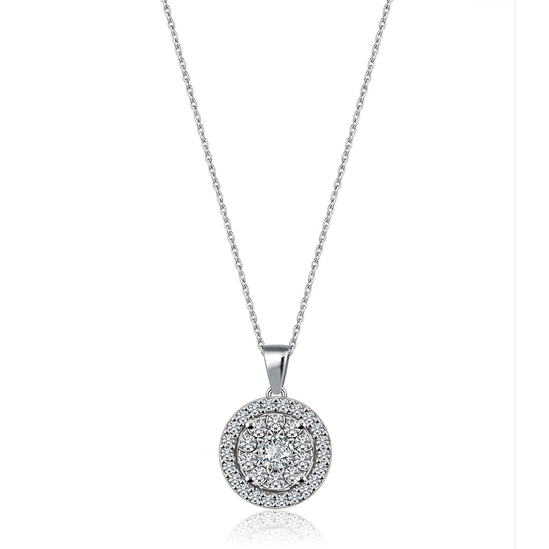 Bouquet Diamond Necklace