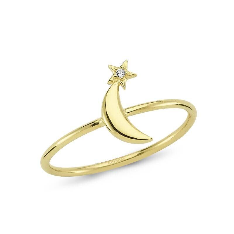 Altın Kuyruklu Yıldız Yüzük