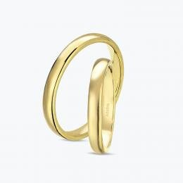 Classical Gold Wedding Rings