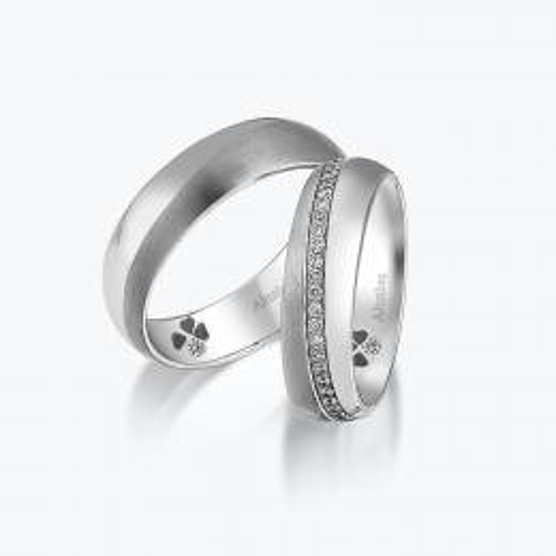 0.32 Carat Bagues de Mariage Diamant