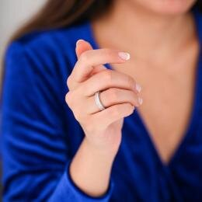 0.53 Carat Bagues de Mariage Diamant
