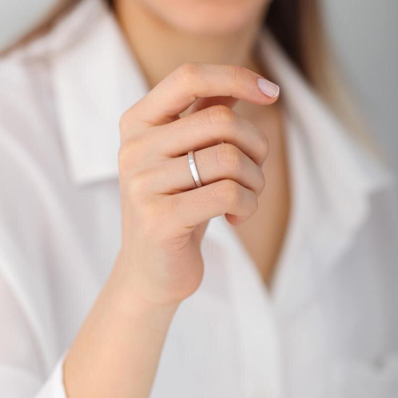 0.01 Carat Bagues de Mariage Diamant