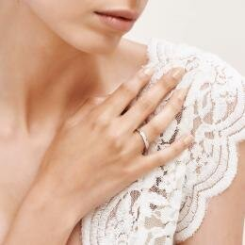 0.11 Carat Bagues de Mariage Diamant