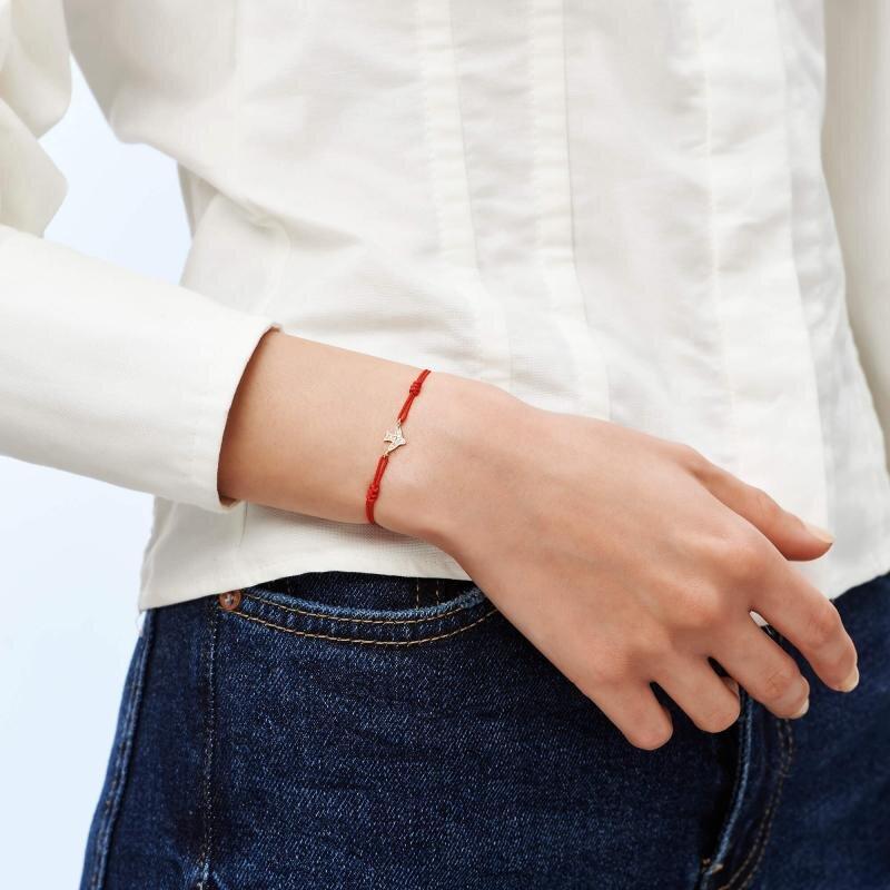 Swallow Cord Gold Bracelet