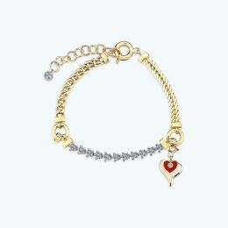 Mood Bracelet Chaine Or Coeur