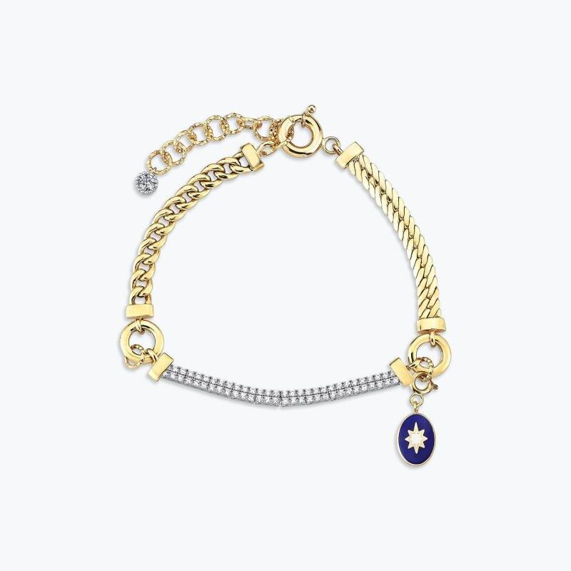 Mood Bracelet Or Étoile Polaire