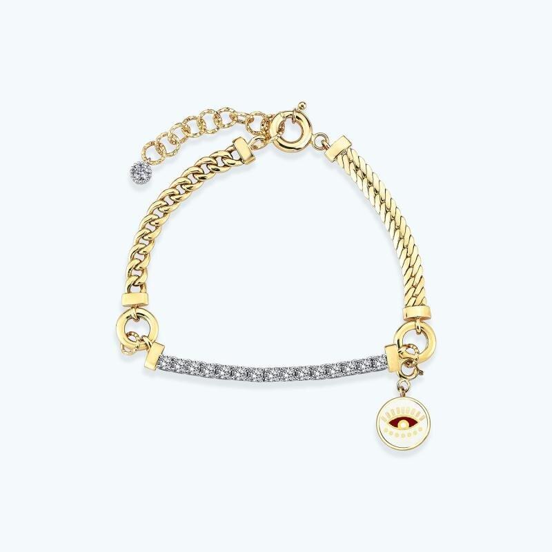 Mood Bracelet Or Oeil