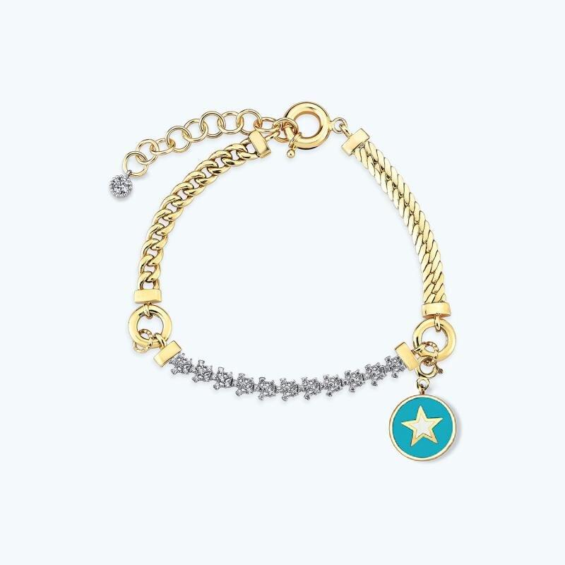 Mood Bracelet Or Étoile