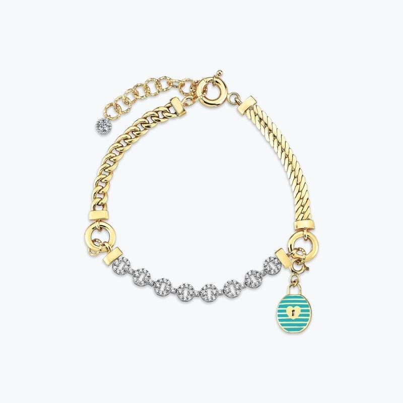 Mood Bracelet Or Serrure