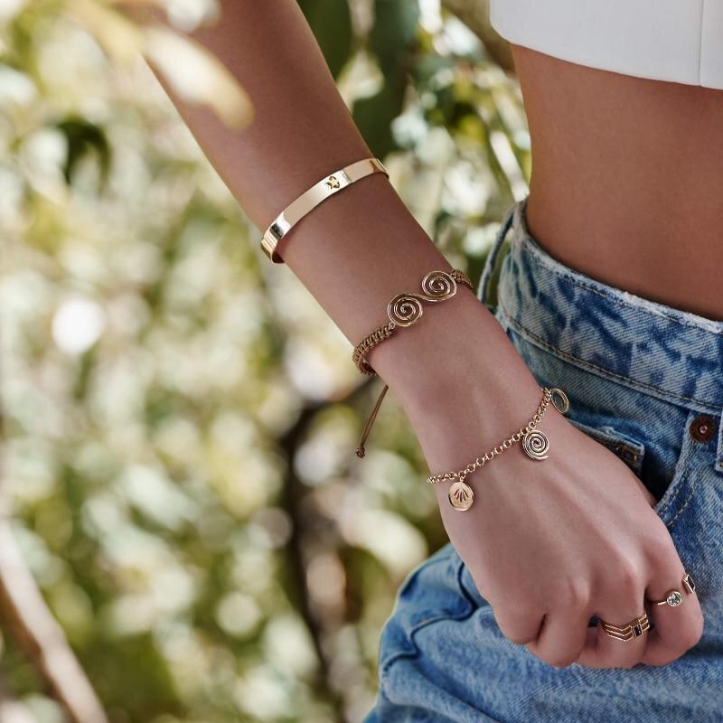 Reflection Gold Bracelet