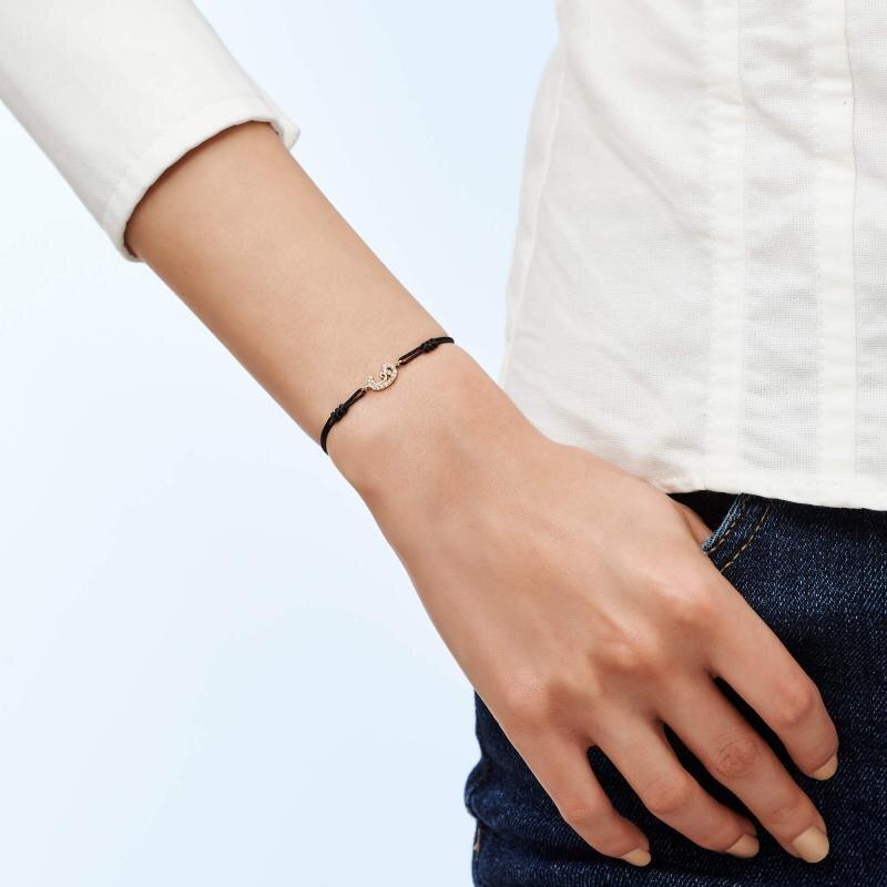 Vav Cord Gold Bracelet