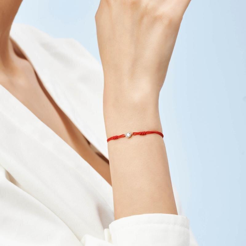 Cord Gold Bracelet