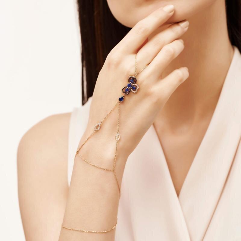 Finger Chain Gold Bracelet - Fermme