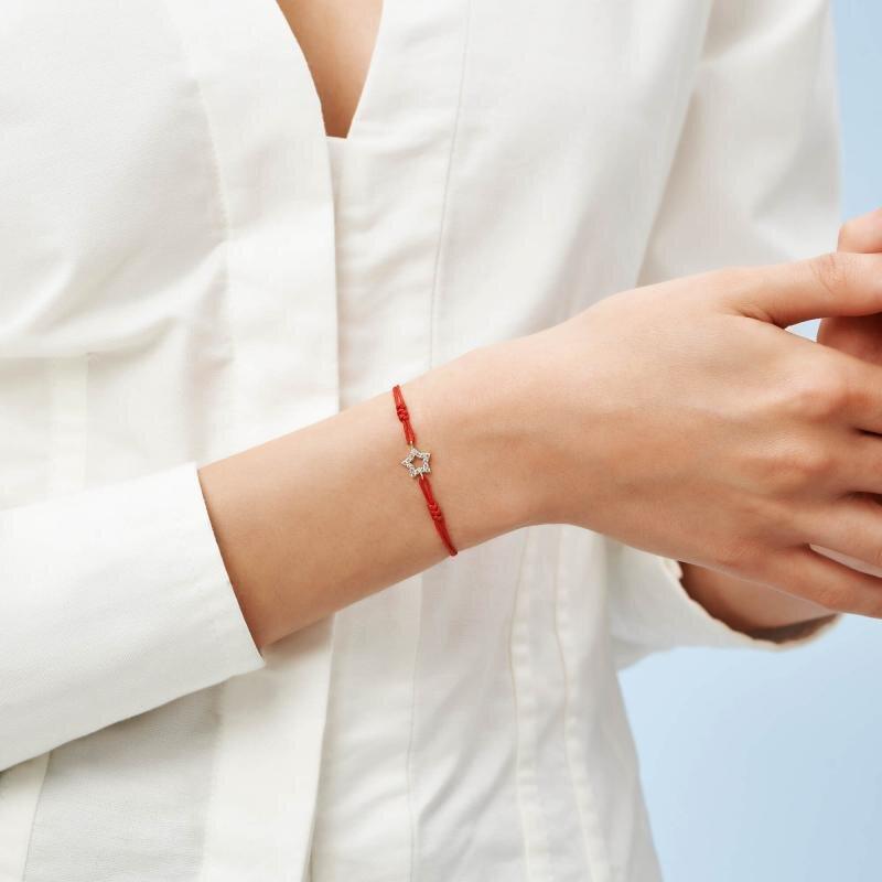 Star Cord Gold Bracelet