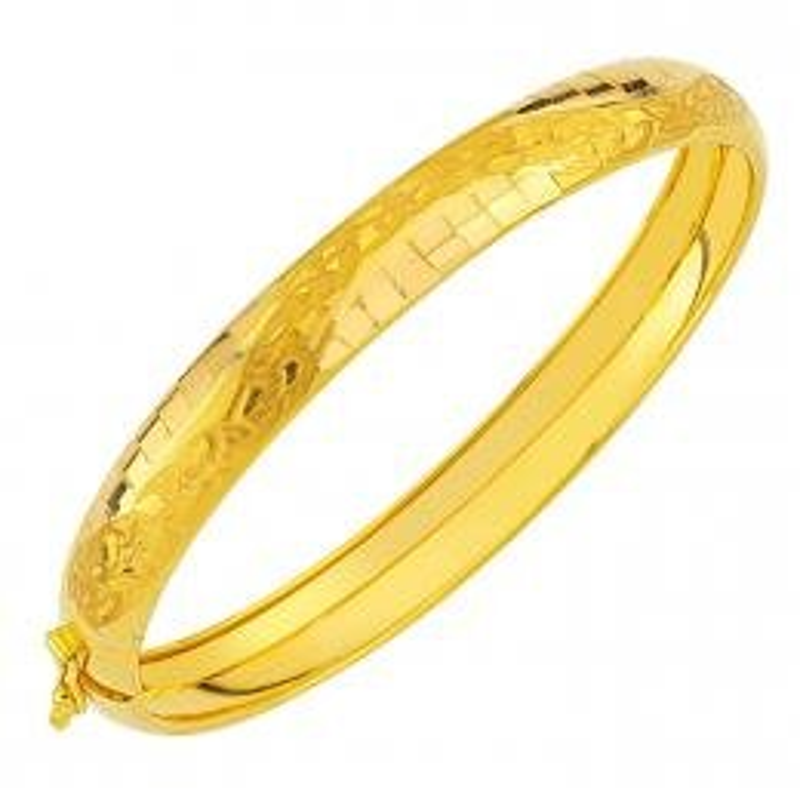 22 K Gold Bangle
