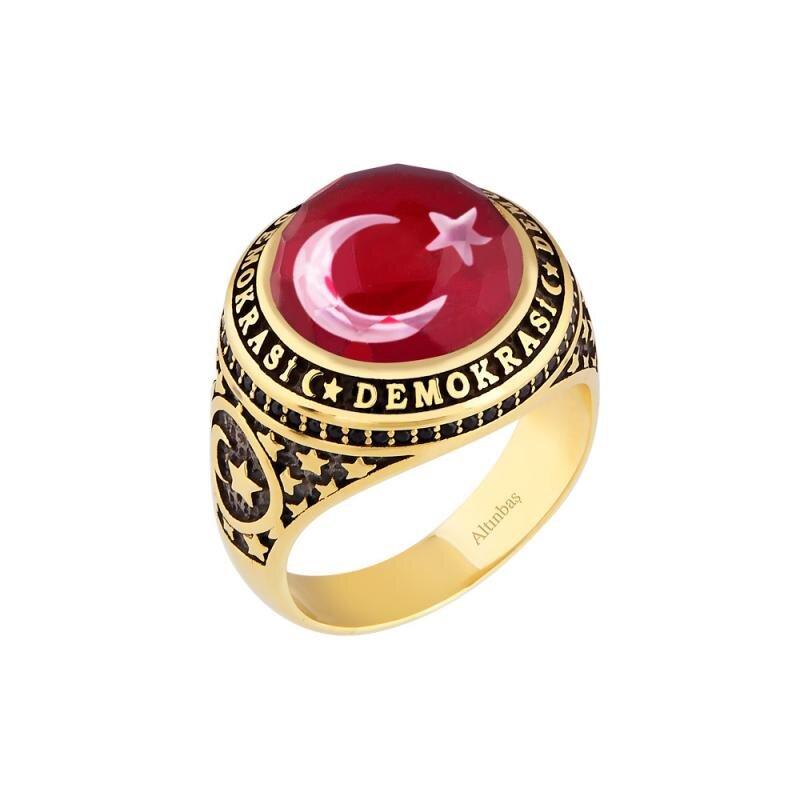 Altın Erkek Demokrasi Yüzüğü