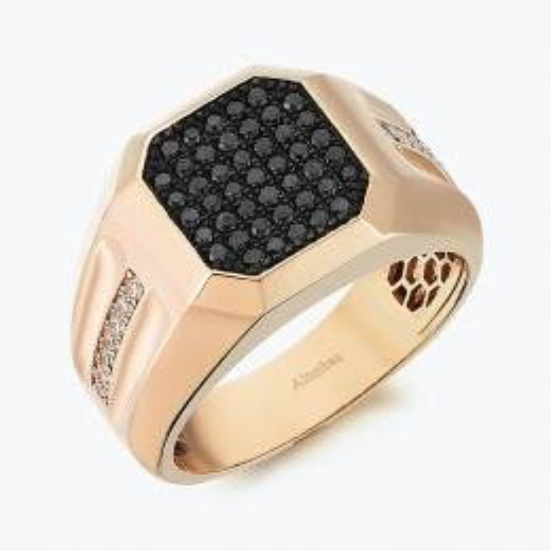 0.70 Carat Men's Diamond Ring