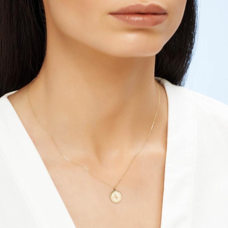 Altinbas Life Tuğra Gold Necklace