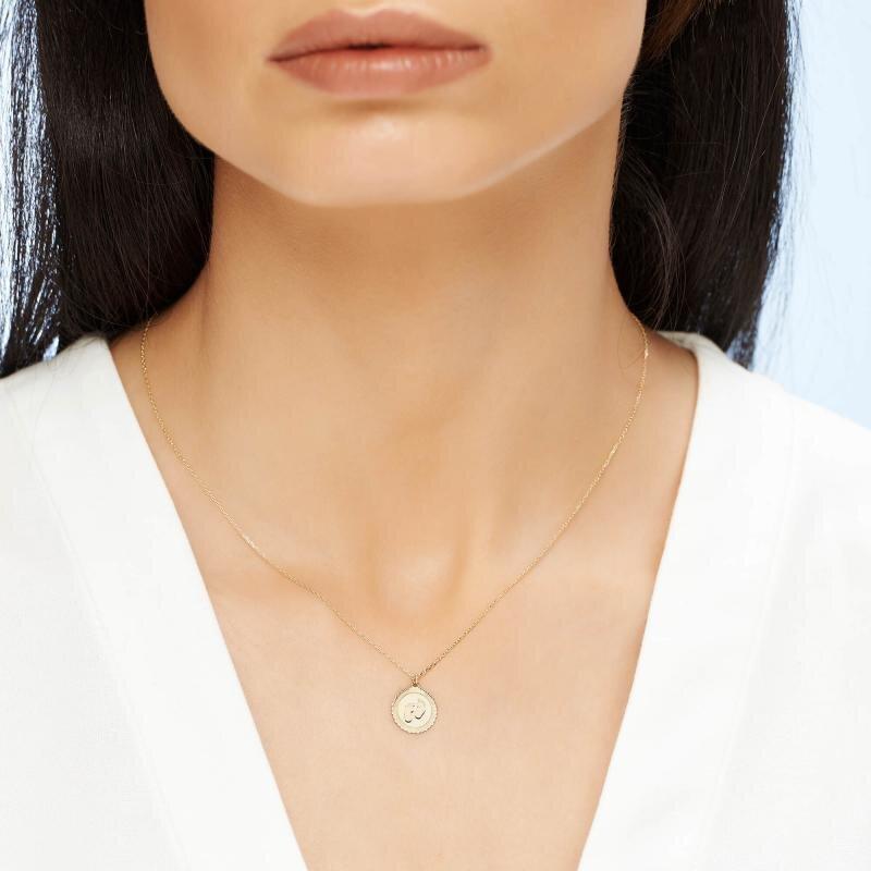 Altinbas Life Footprint Gold Necklace