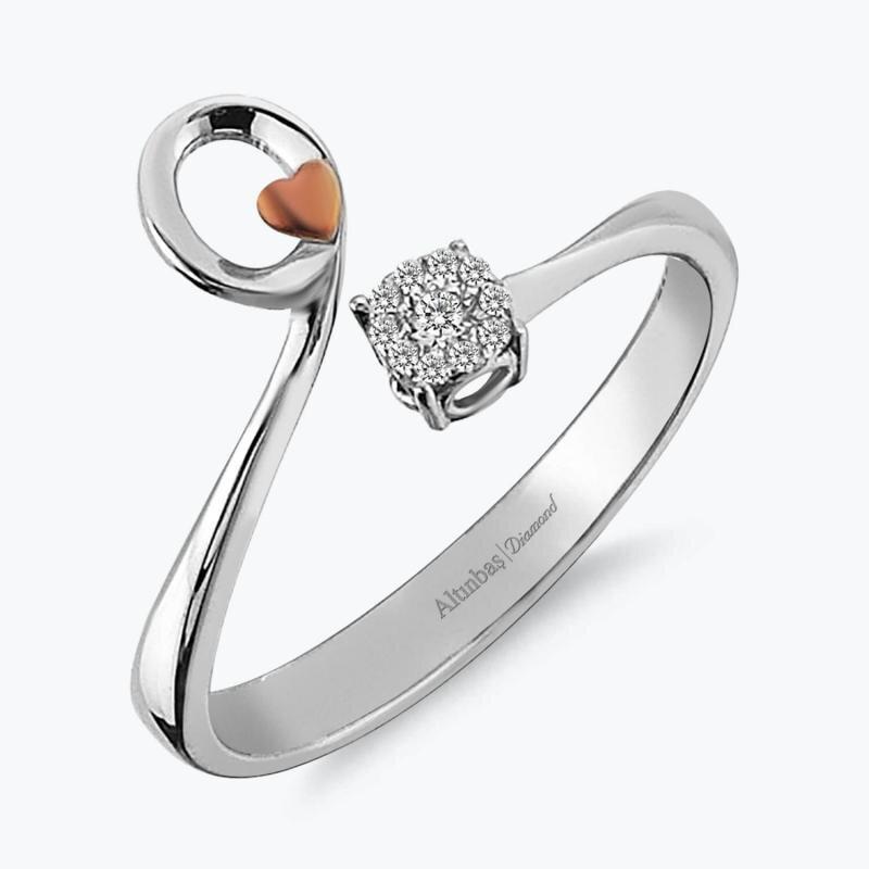 0.06 Carat Diamond Ring- Promiss