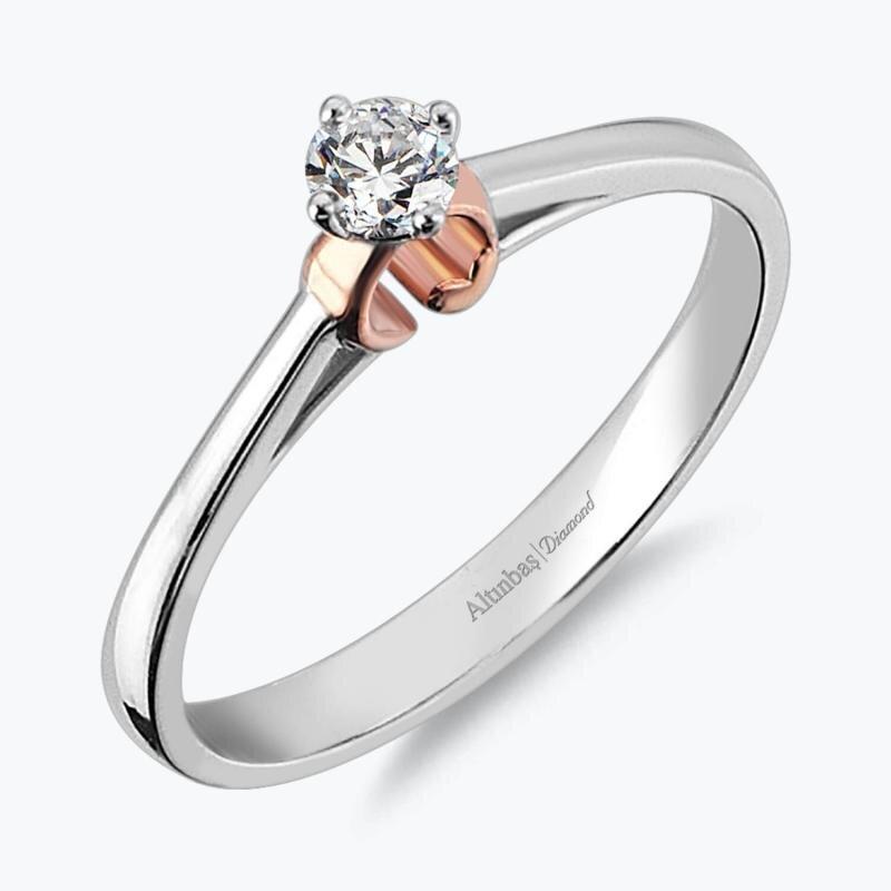 0.13 Carat Promiss Diamond Ring