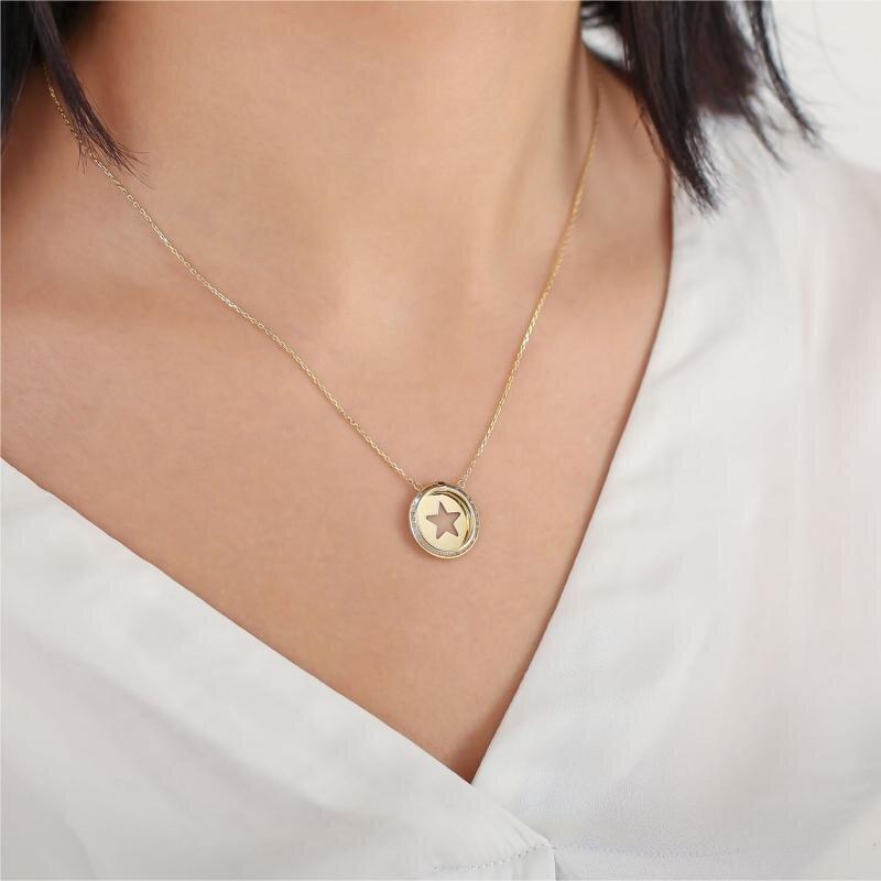 Altınbaş Life Star Gold Necklace