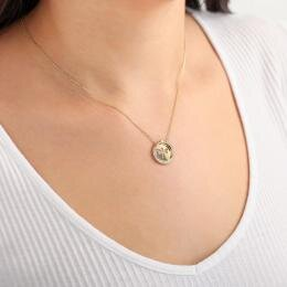 Altinbas Life Dragonfly Gold Necklace