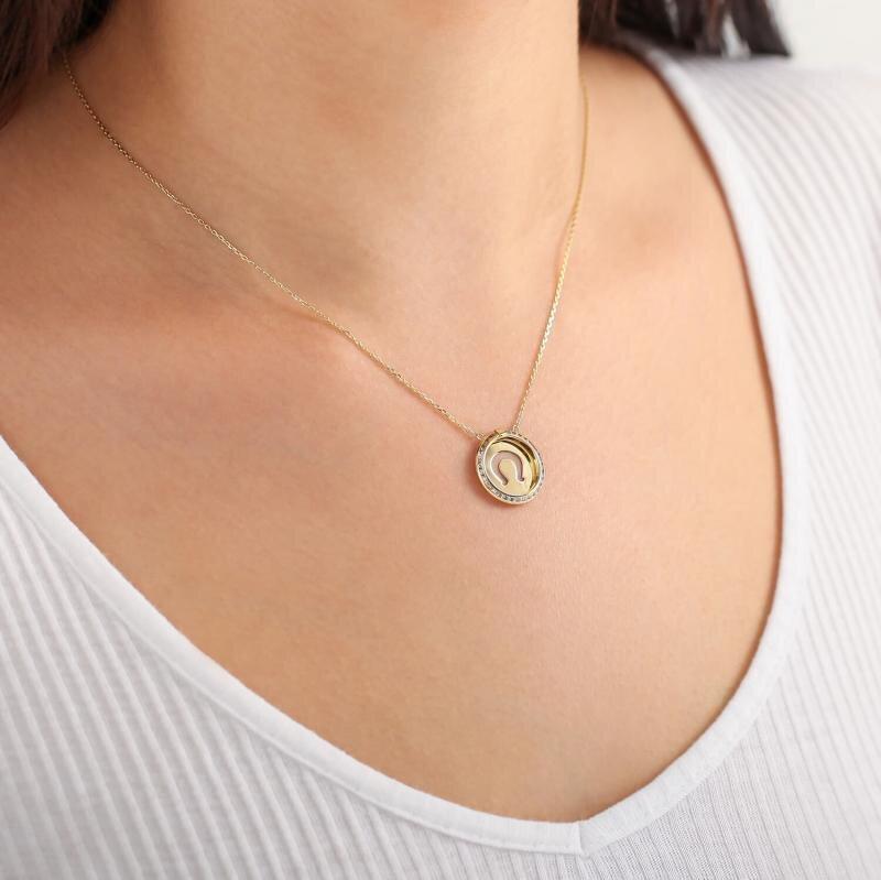 Altinbas Life Horseshoe Gold Necklace