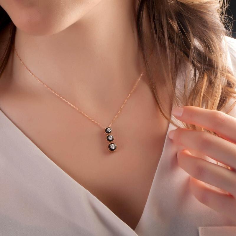 Tria Diamond Necklace