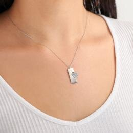 Heart Name Gold Necklace