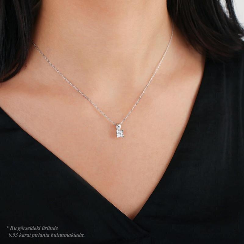 Solitär Diamond Necklace