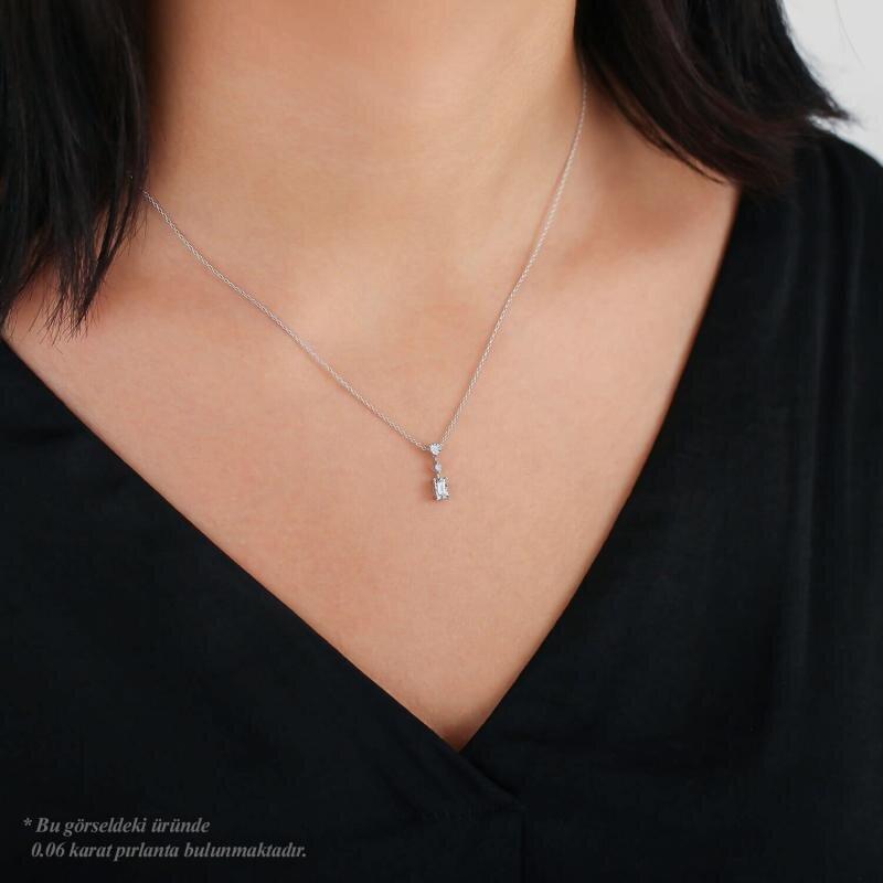 Baguette Solitaire Diamond Ring