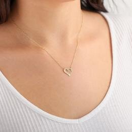 Heart Infinity Gold Necklace