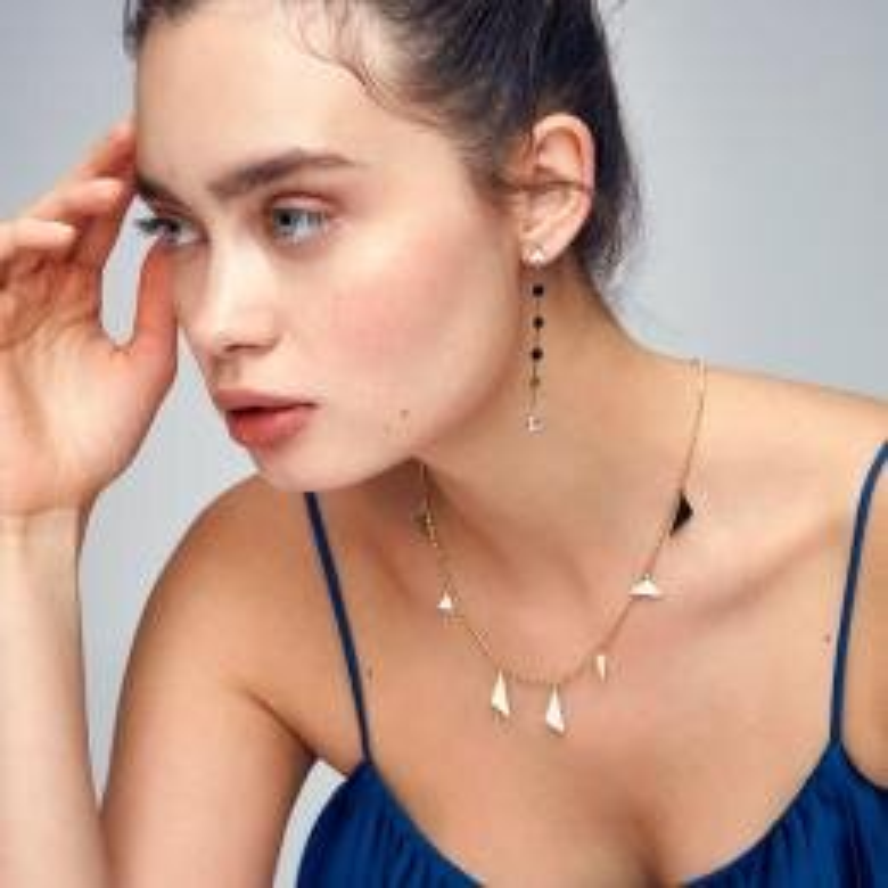 Denge Gold Earrings