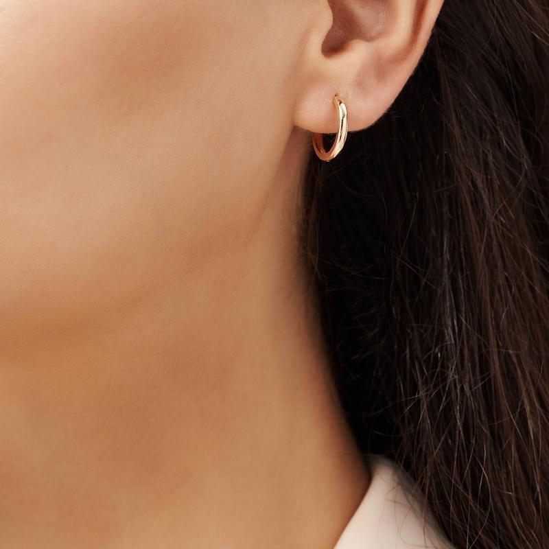 Hoop Gold Earrings