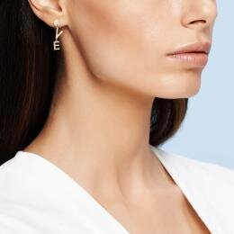 Love Gold Earring