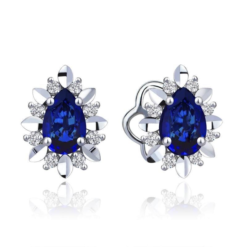 0.15 Carat Sapphire Diamond Ring