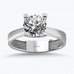 Solitaire Gold Ring