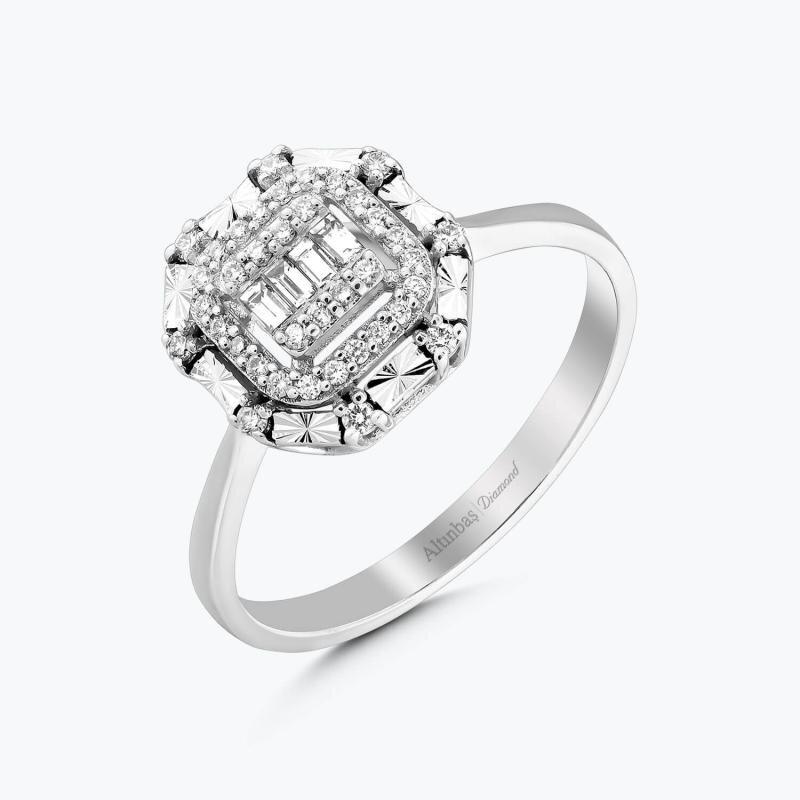 0.20 Carat Baguette Diamond Ring