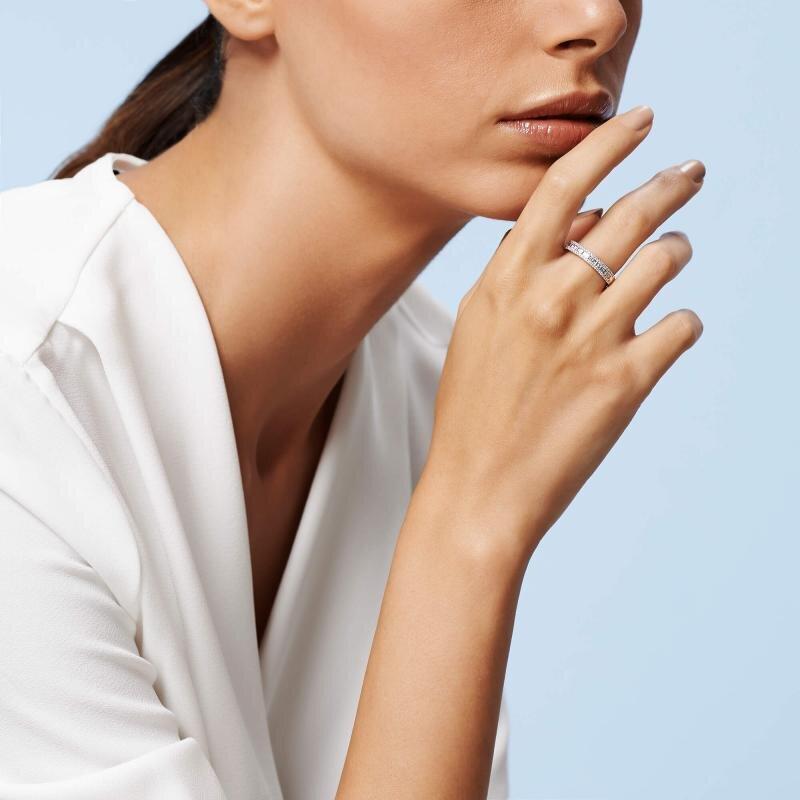 0.38 Carat Baguette Diamond Ring