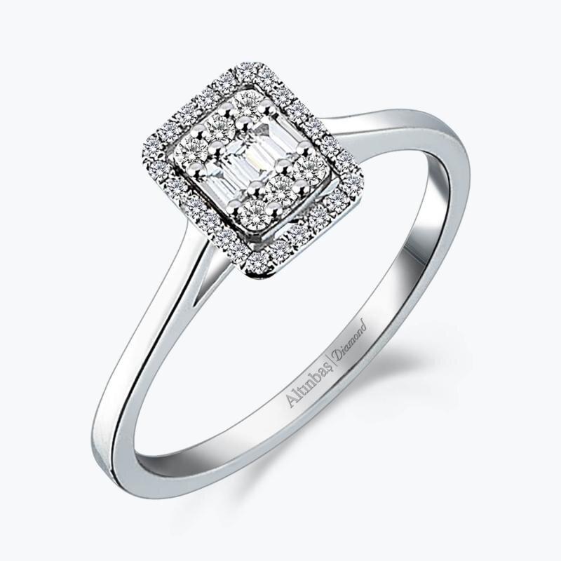 0.25 Carat Baguette Diamond Ring