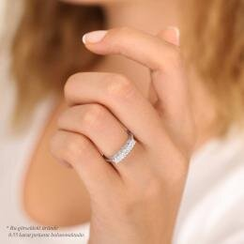 0.55 Carat Five Stone Diamond Ring