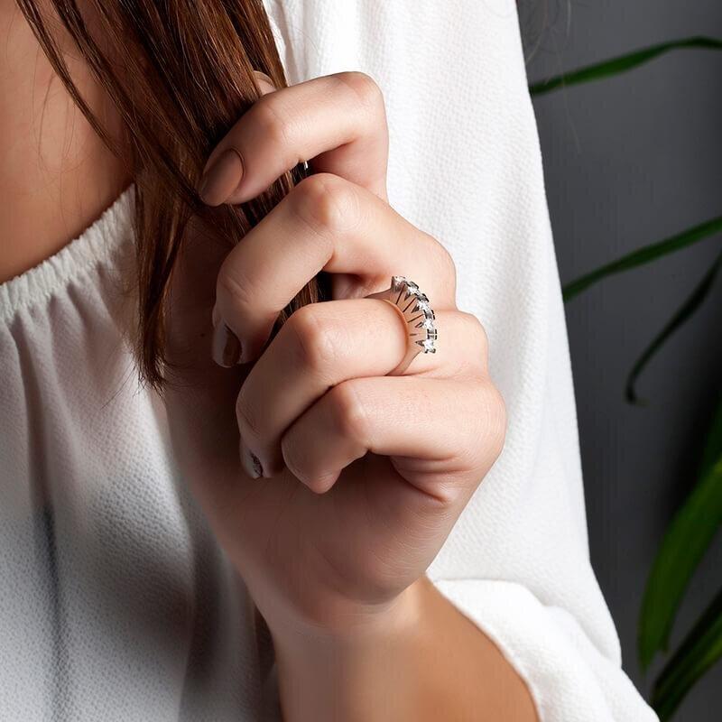 Bague Diamant Cinq Pierres