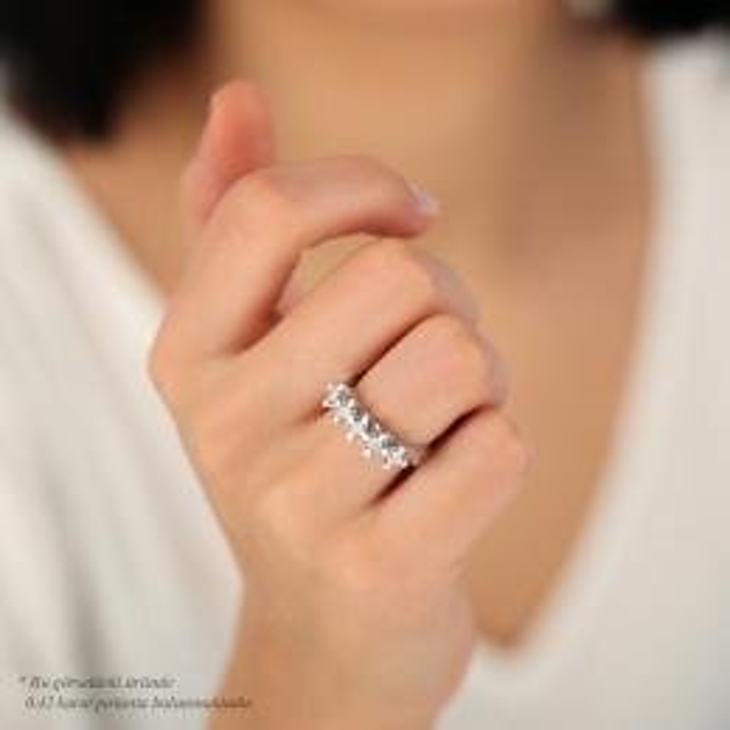0.41 Carat Five Stone Diamond Ring