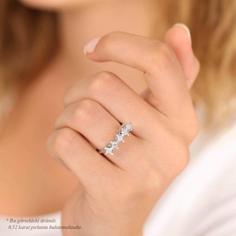 0.50 Carat Five Stone Diamond Ring