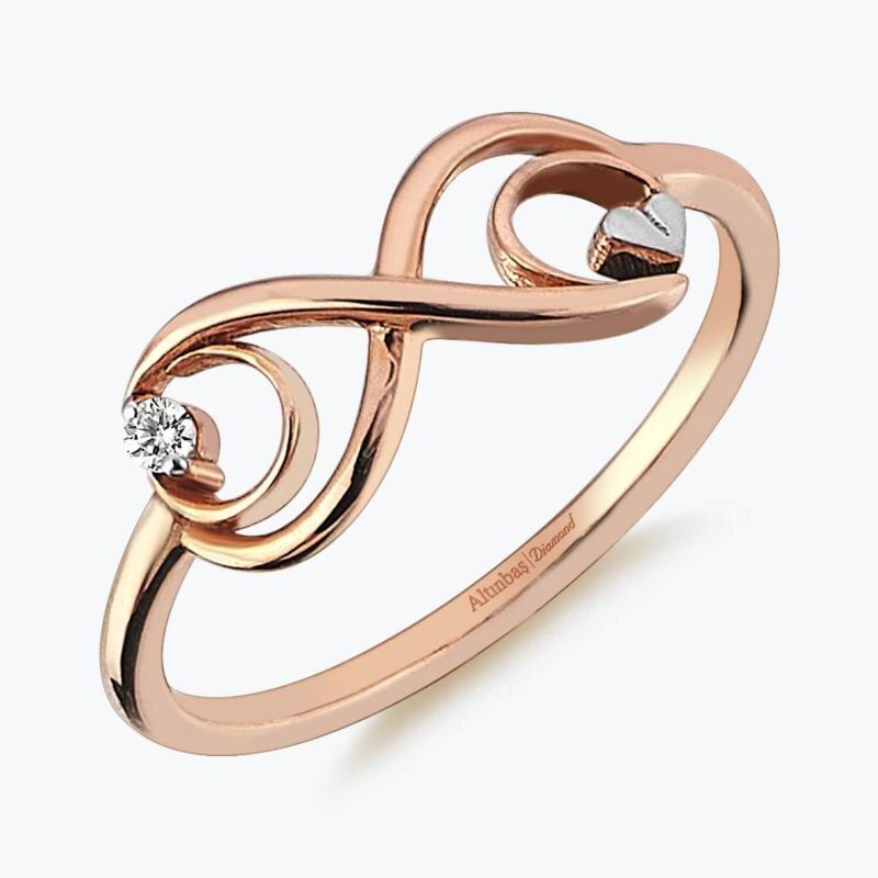 0.03 Carat Promiss Diamond Ring