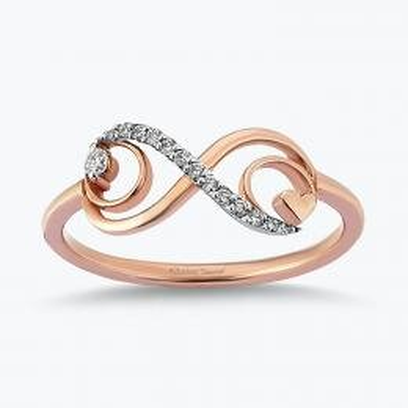 0.08 Carat Bague Diamant Promiss