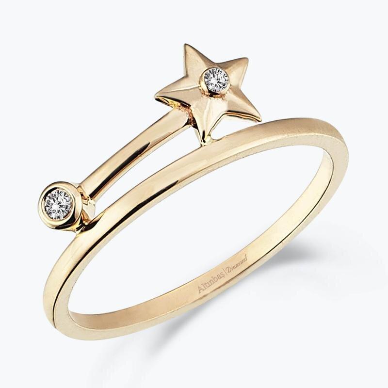 0.03 Carat All Eyes On You Diamond Ring