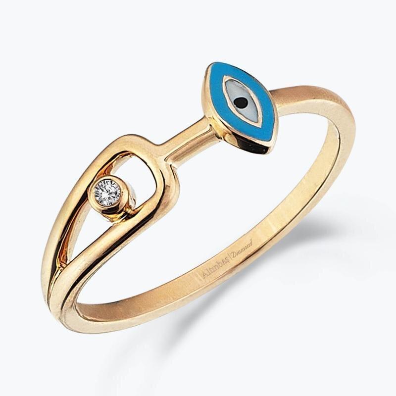 0.01 Carat All Eyes On You Diamond Ring